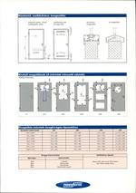 Beltéri acél ajtó beépítés műszaki adatok