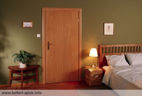 Dekorfóliás ipari beltéri ajtó
