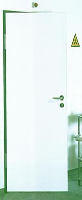 Sugárvédelmi beltéri ajtó