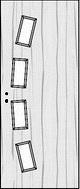 CPL fóliás beltéri ajtópanel minta
